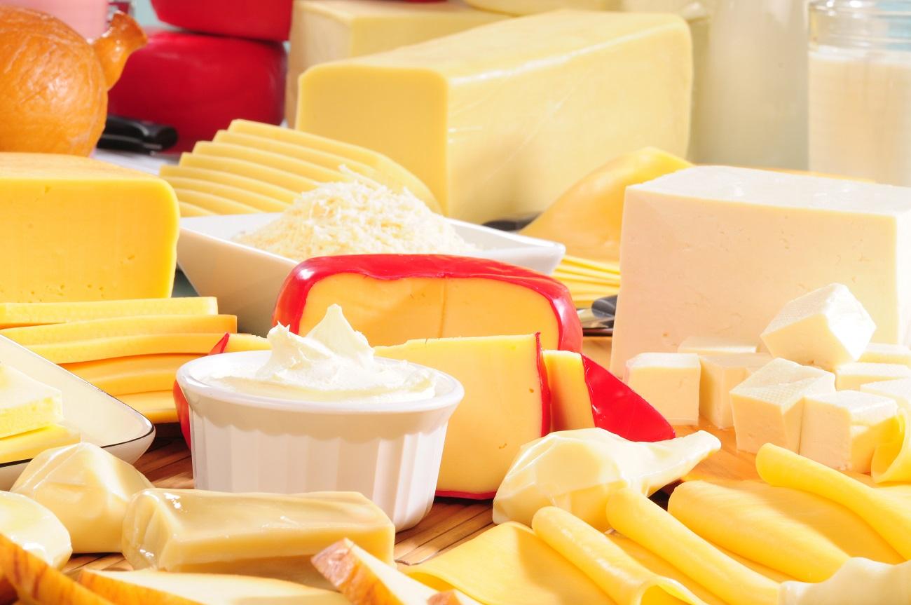 Украина в предыдущем году сократила экспорт продуктов измолока практически на10%