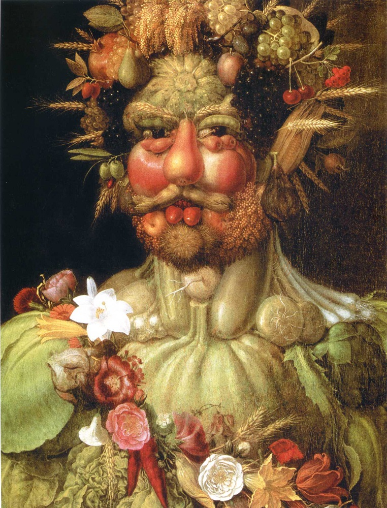 Фото 1. Портрет императора Рудольфа II в образе Вертумна