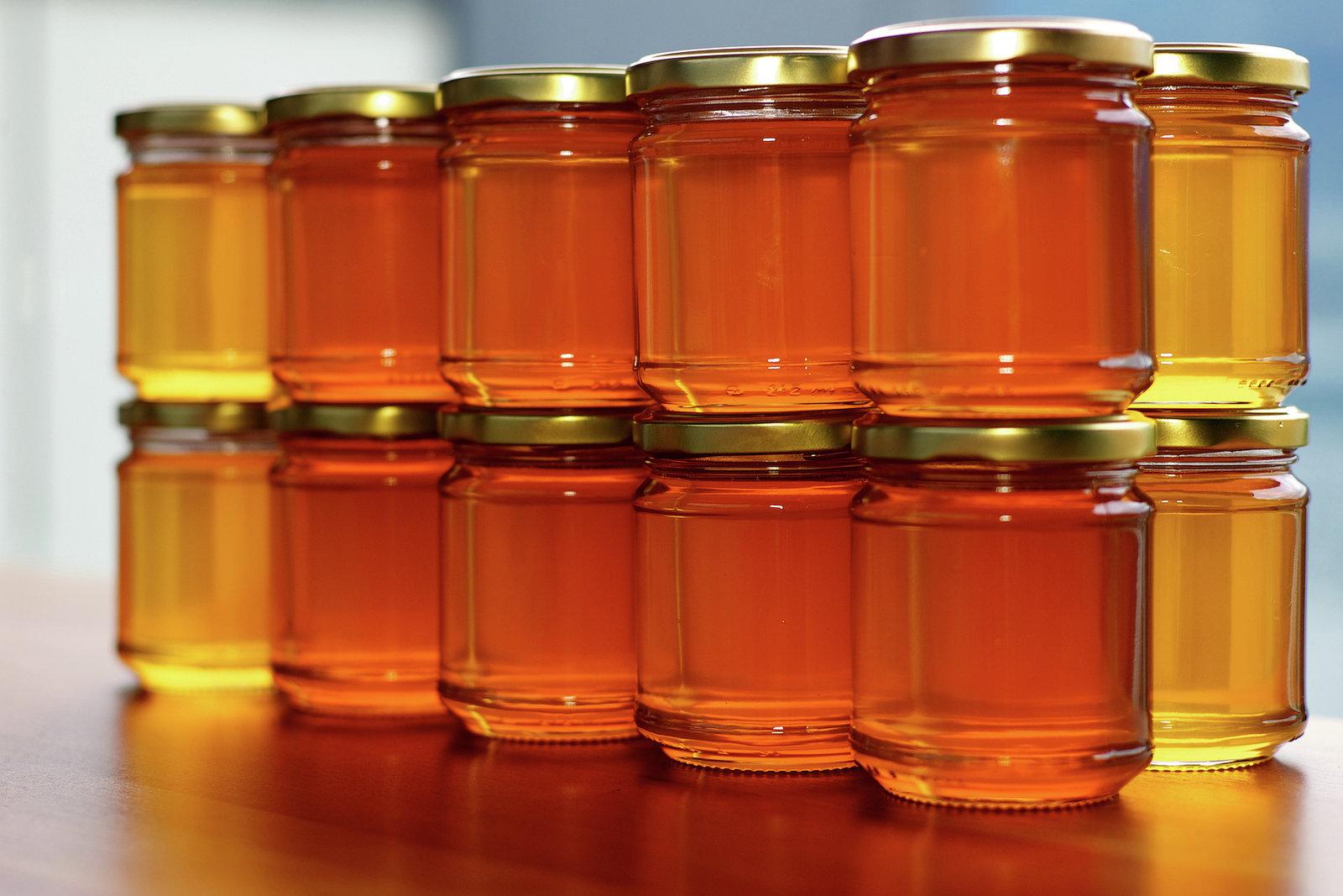 Фото 4. Малиновый мед