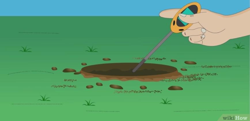 Фото 3. WikiHow: Как определить кислотность почвы подручными средствами