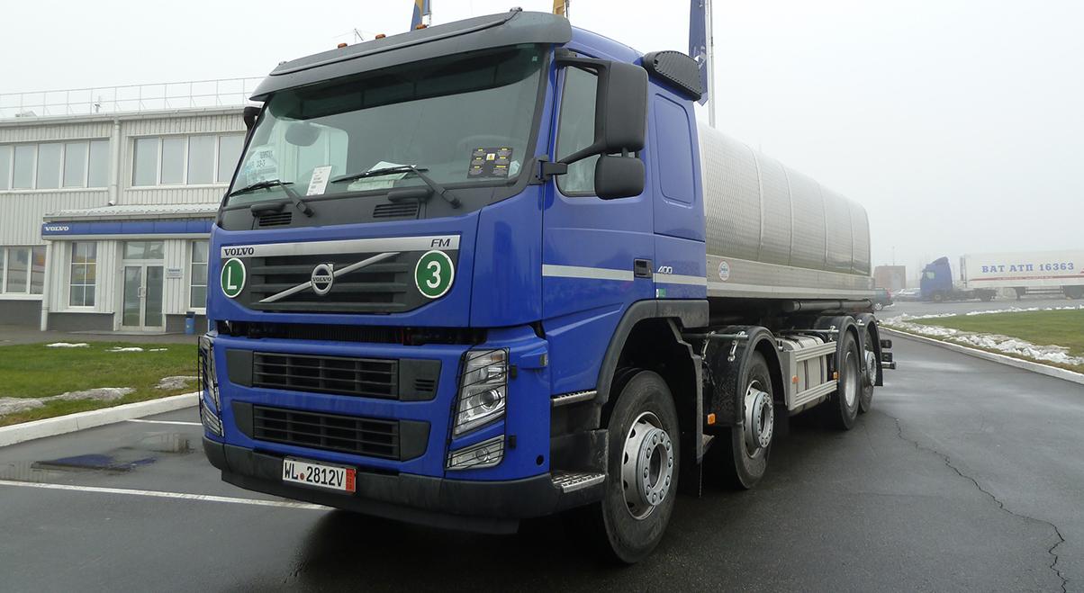 Грузовик Volvo – багаж лучших инженерных решений для АПК