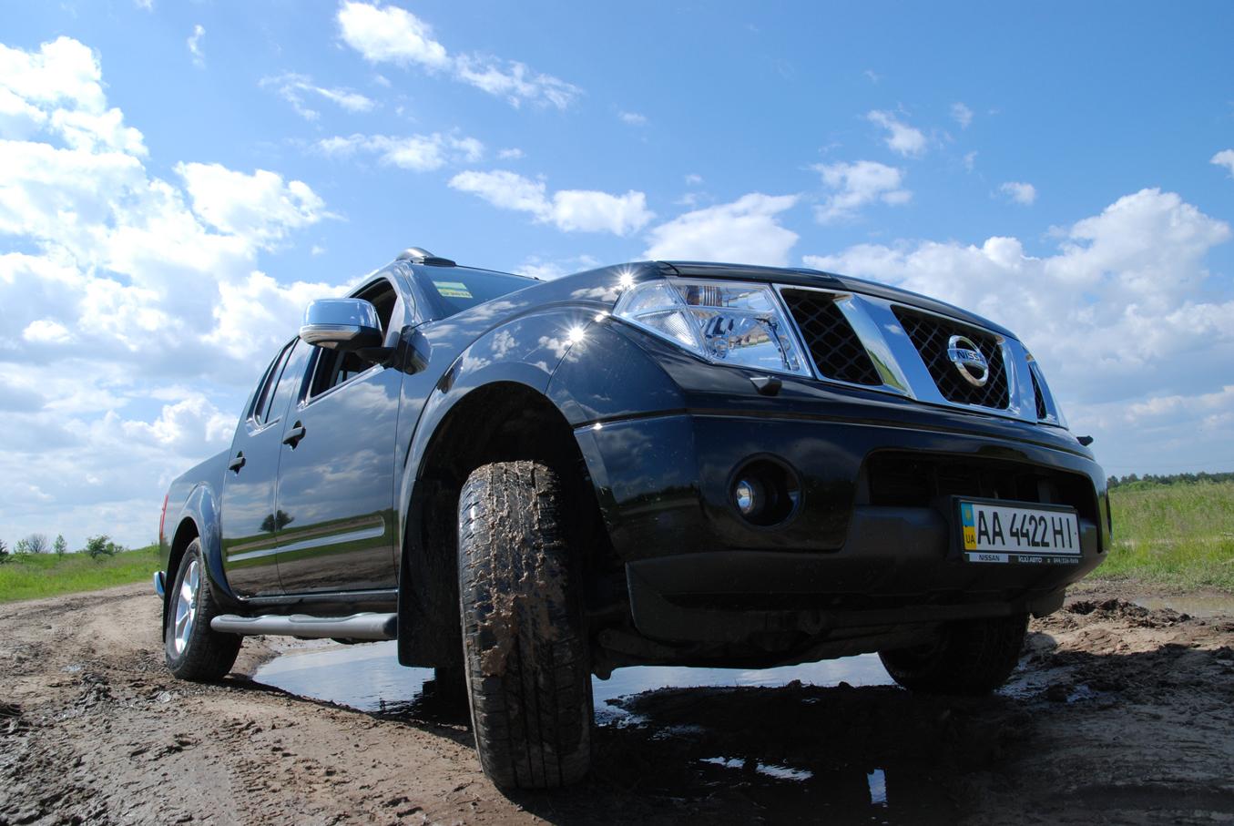 Nissan Navara – король пикапов. Тест-драйв в Иванковичах