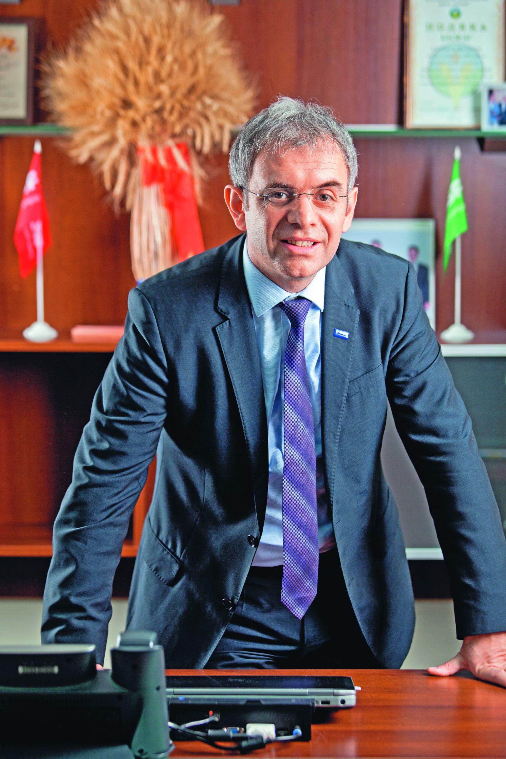 Тибериу Дима, руководитель компании BASF  по Украине, Молдове и странам Кавказа  Работать с высокими профессионалами – это вызов