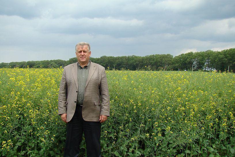 Петро Гадз.  Качество – это восемь — десять  тонн  с гектара
