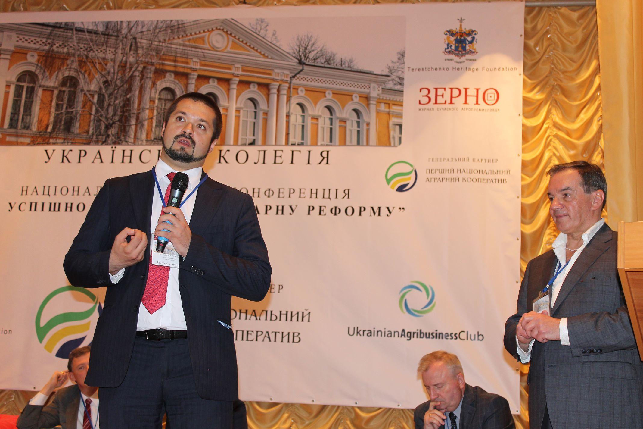 Семен Салатенко, голова Сумської обласної ради:…і камінець покотиться з гори