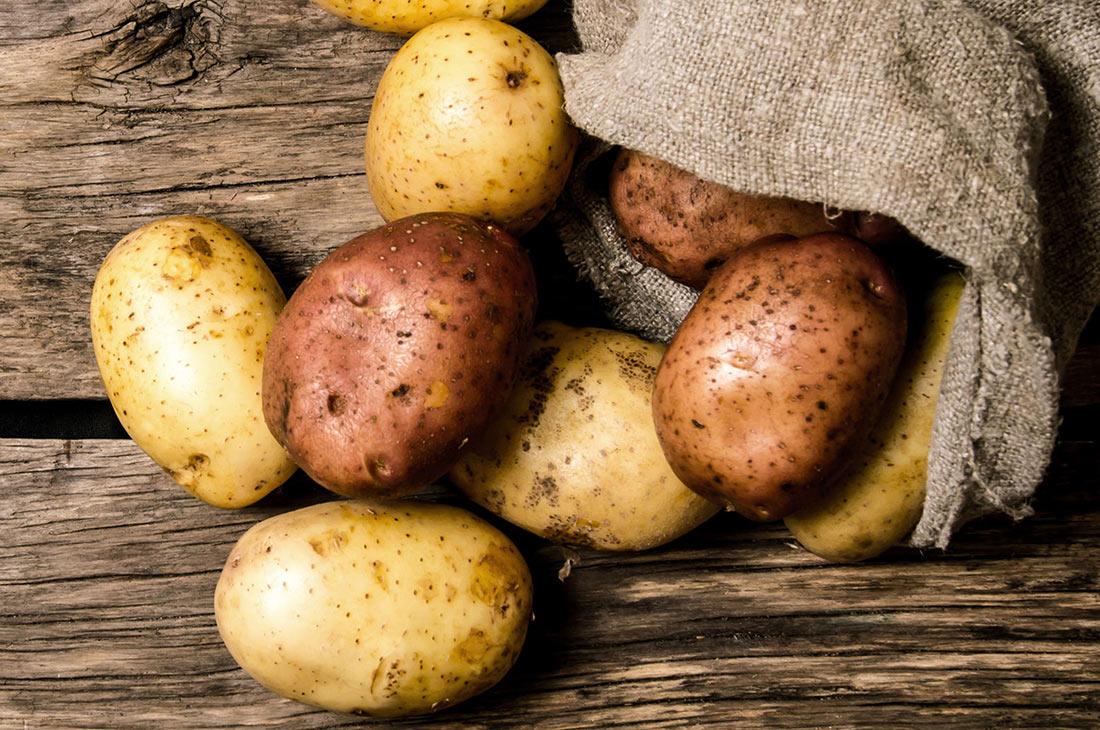 В Украине за год значительно сократилось производство картофеля