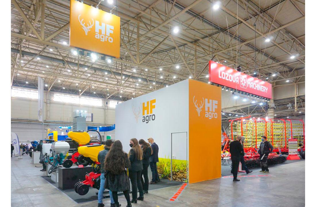 Успішний дебют HF Agro на Зернових технологіях-2021