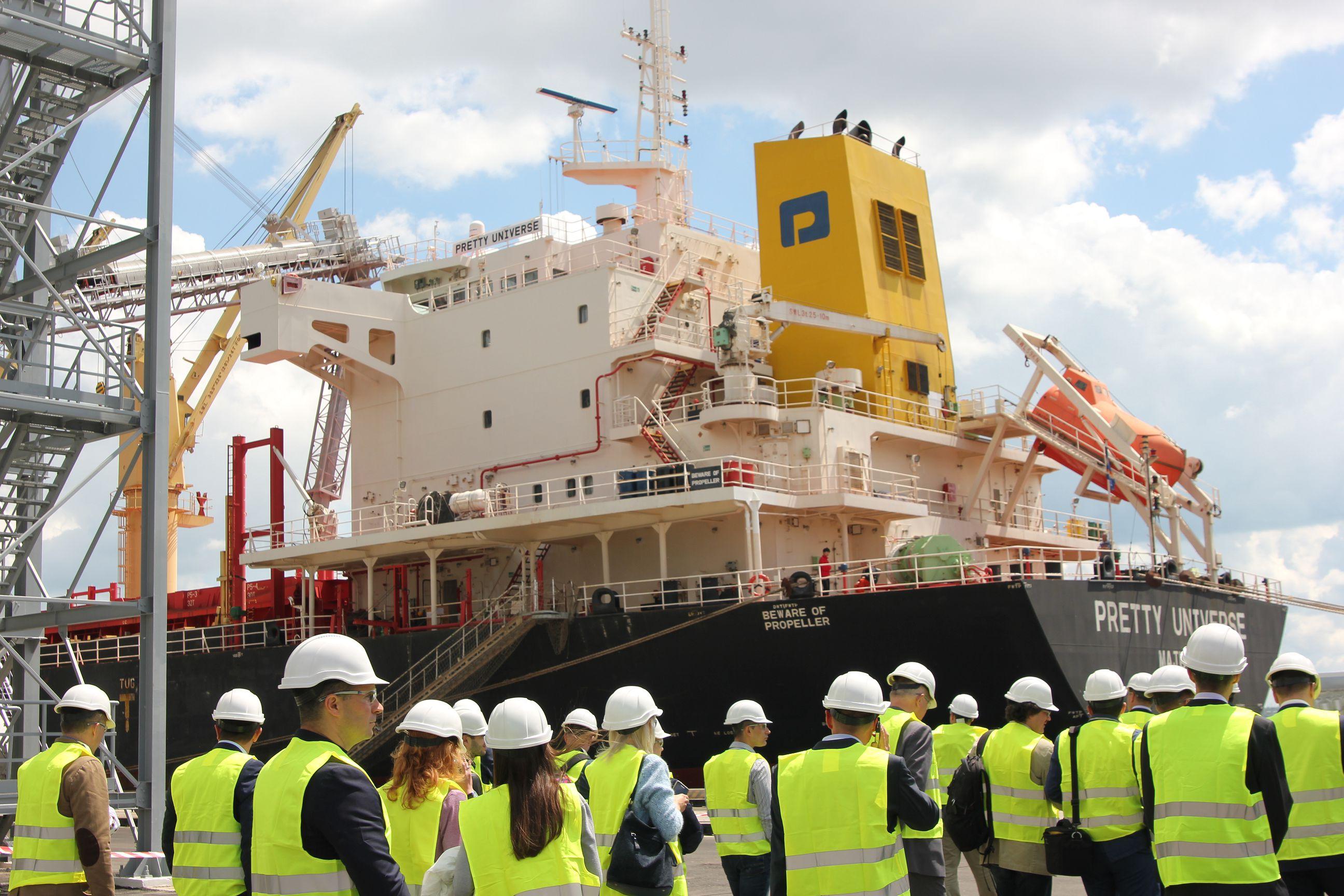 COFCO Agri открыла самый современный морской терминал