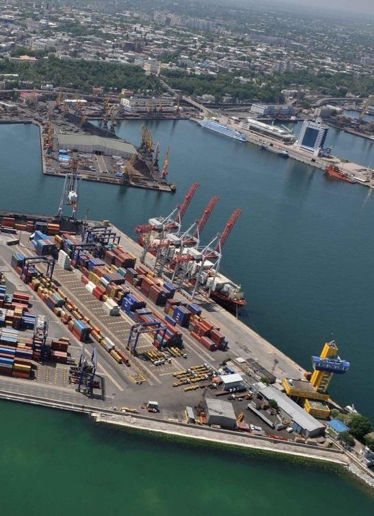 В двух украинских портах появятся новые зерновые терминалы