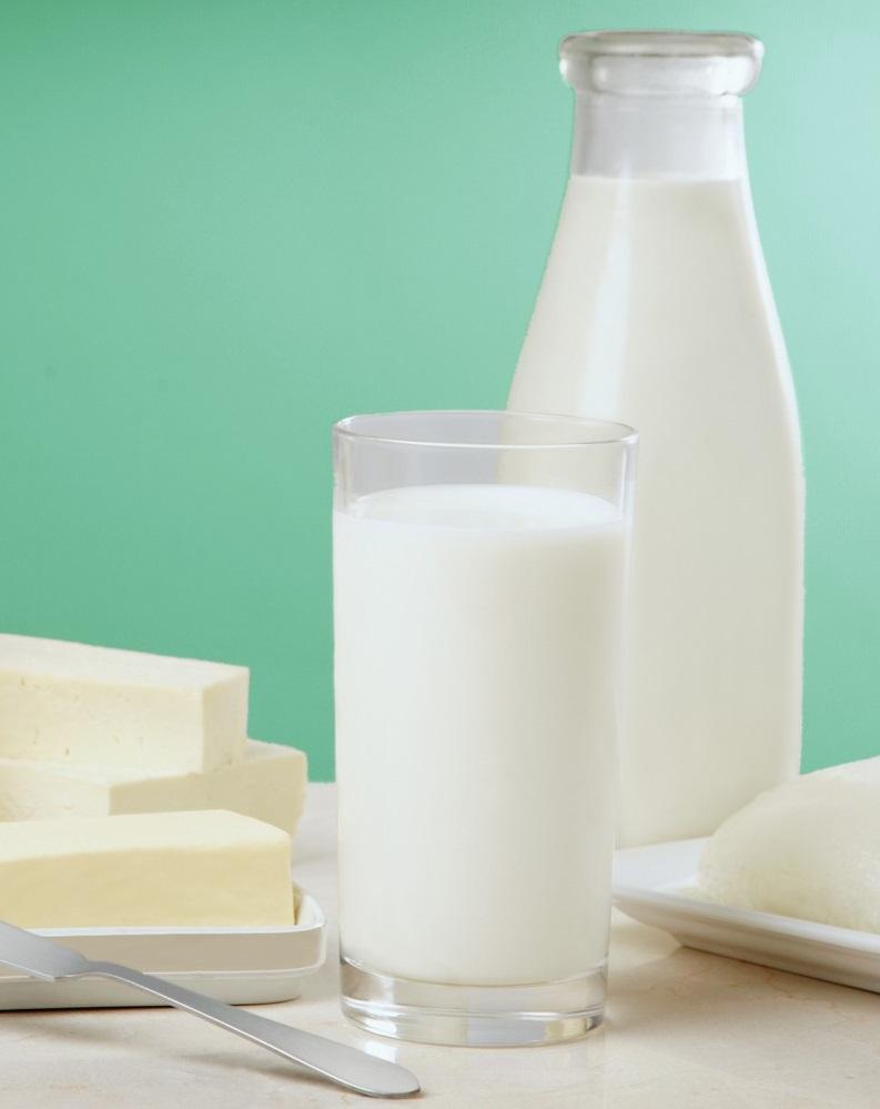 В стране увеличиваются поставки молока и молочной продукции