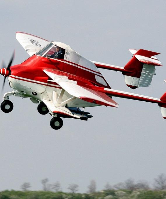 Необычный самолет для сельскохозяйственных нужд (ФОТО)