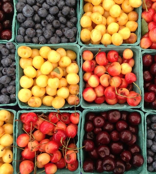 В этом году в Украине собрали хороший урожай ягод и косточковых