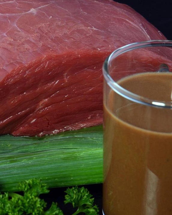 В Германии вместо соков будут пить жидкое мясо