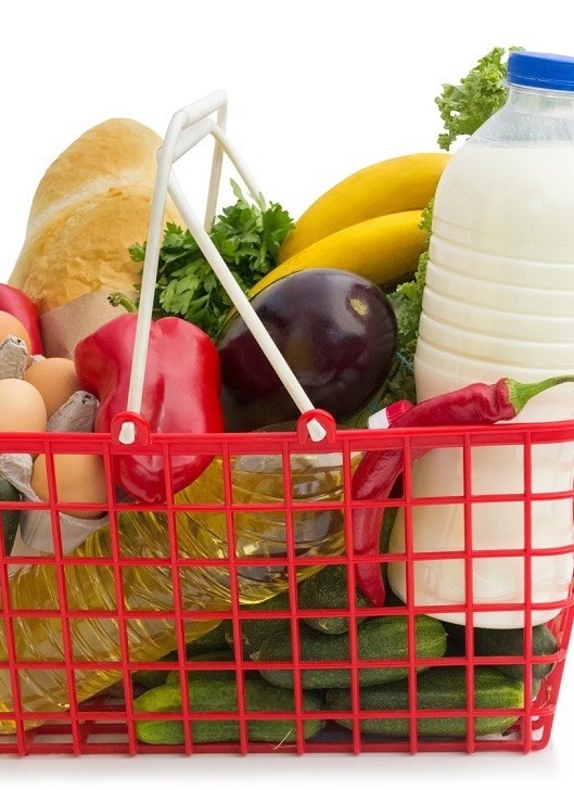 В июле минимальная продуктовая корзина «завесила» на 1421 грн
