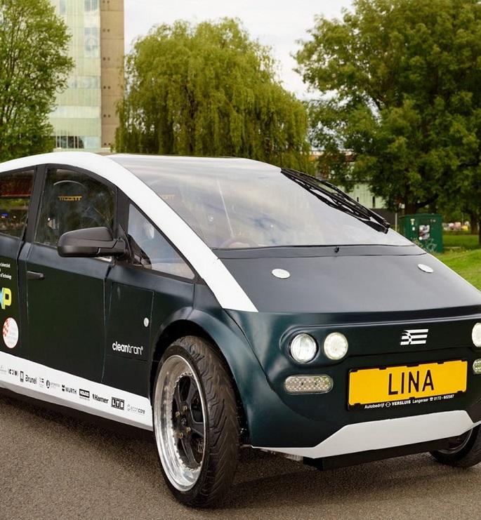 В Нидерландах сконструировали автомобиль из свеклы и льна