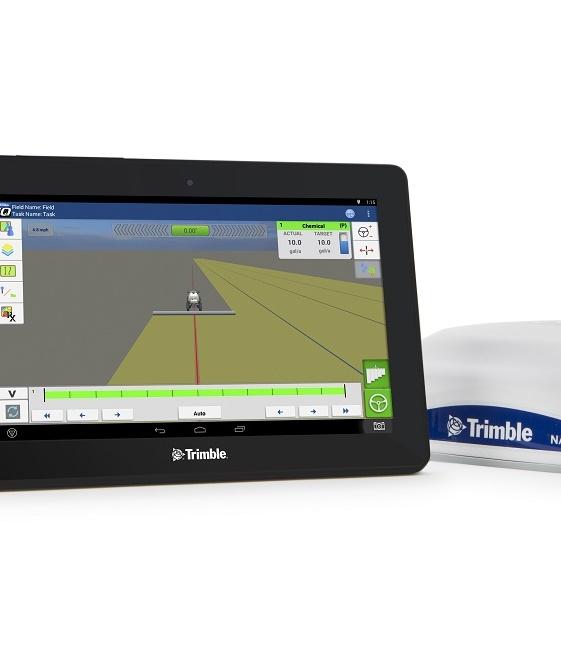 Trimble представляє ISOBUS сумісний дисплей GFX-750 з багатофункціональним навігаційним контролером для сільськогосподарського виробництва