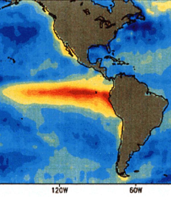 Эль-Ниньо и подобные температурные явления влияют на две трети мирового урожая