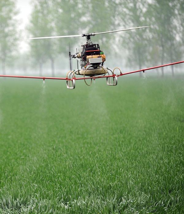 В Китае разрабатывают «воздушный» пестицид для опрыскивания дронами