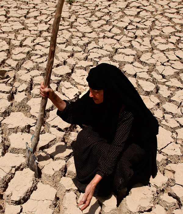 В Ираке уже наблюдается острая нехватка воды