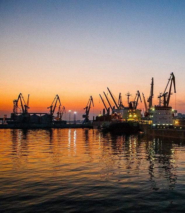 Морпорты Украины работают в активном режиме
