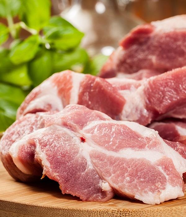 В Украине значительно вырос импорт свинины