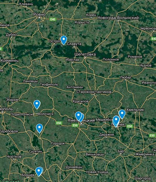 В Госрыбагентстве создали онлайн карты зимовальных ям во всех областях Украины