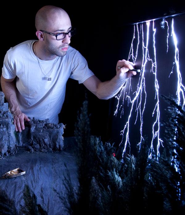 Мэттью Элбанис: живой искусственный мир (ФОТО)