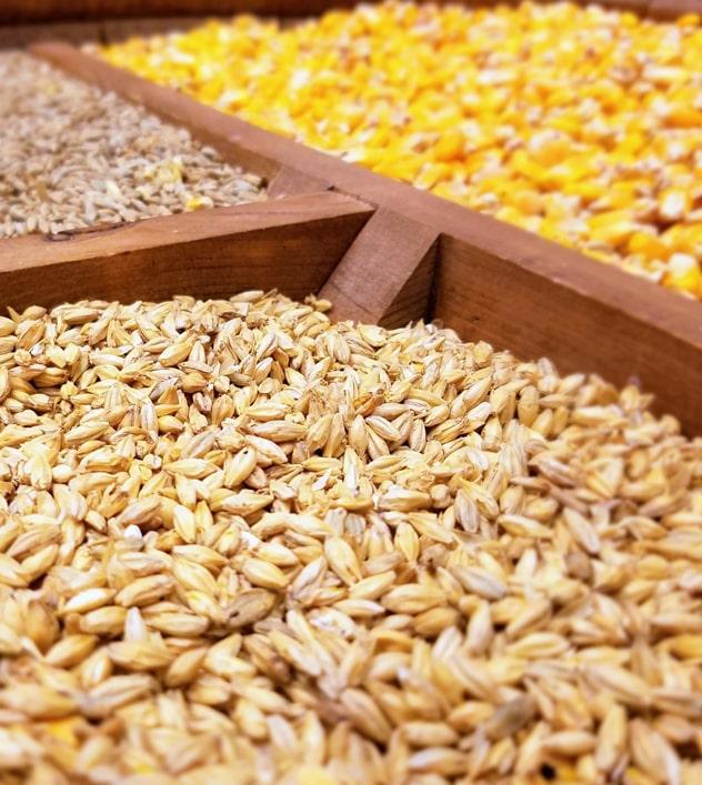 Экспортные поставки и производство зерновых культур