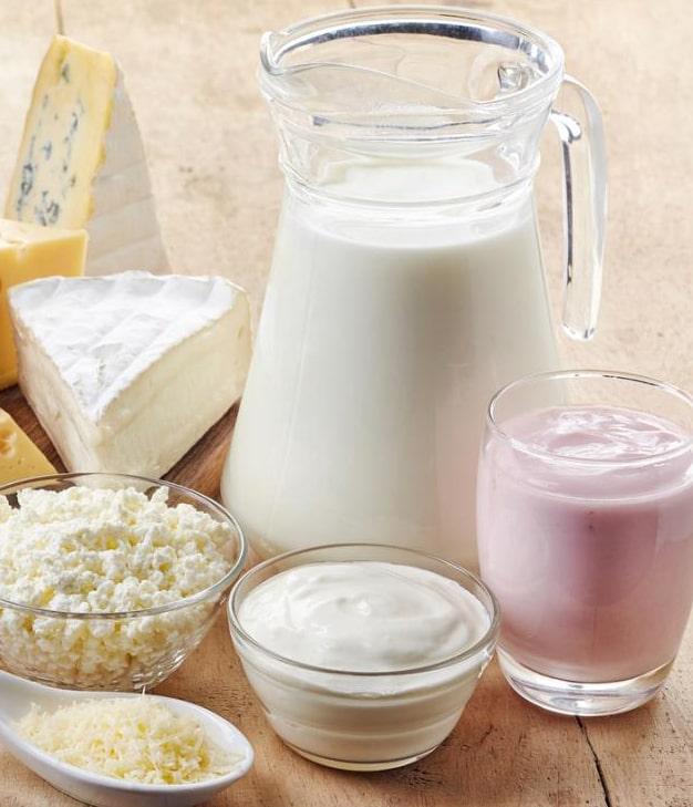 Украина сократила поставки молочной продукции
