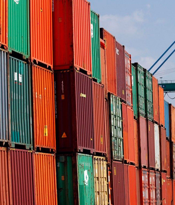 В морских портах страны значительно выросла перевалка контейнеров