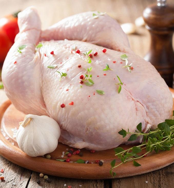 За полугодие установлен новый рекорд по экспорту курятины